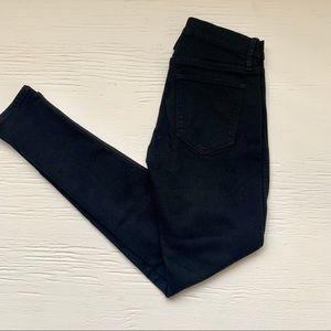 Gap legging jeans black size 26
